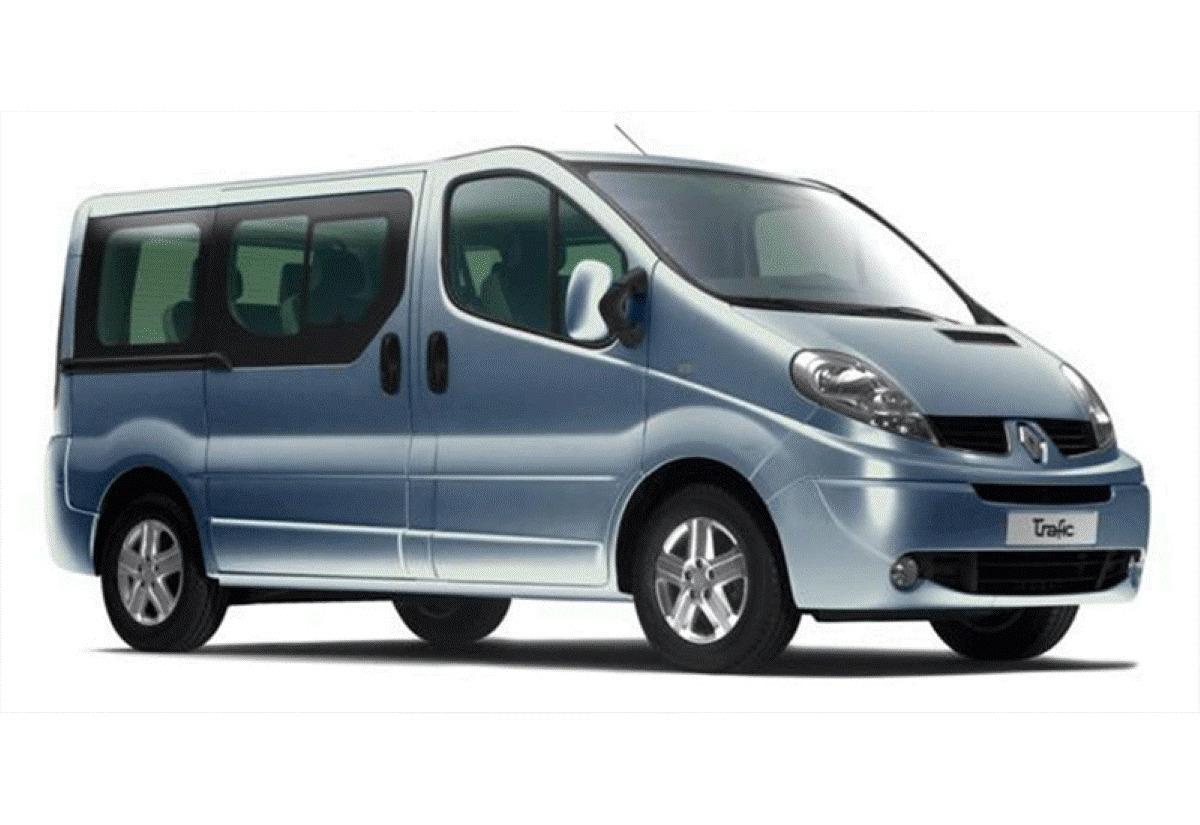 Alcar Alquiler De Vehículos Grupo P Monovolumen Minibus 9 Plazas Mercedes Vito Opel Vivaro cantabria
